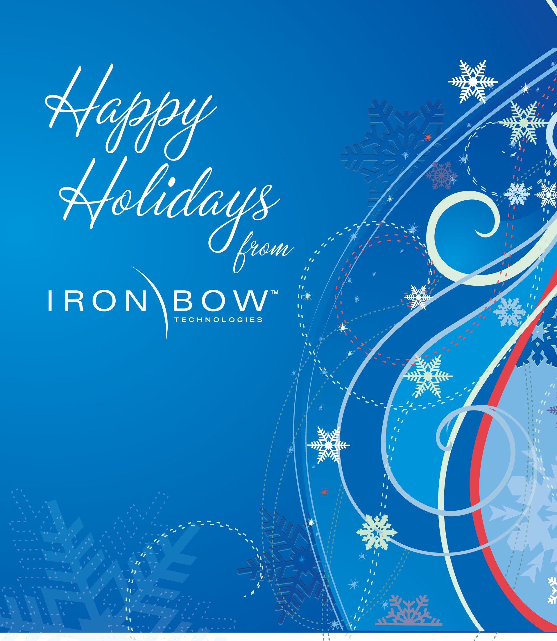 Happy Holidays from Iron Bow Technologies