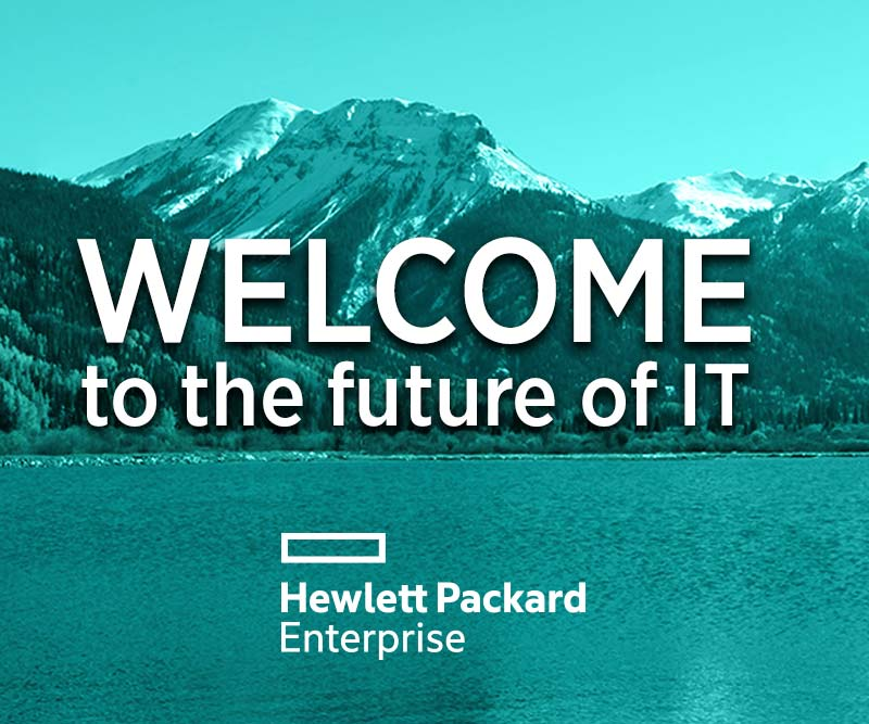 HPE - Welcome to the future of IT