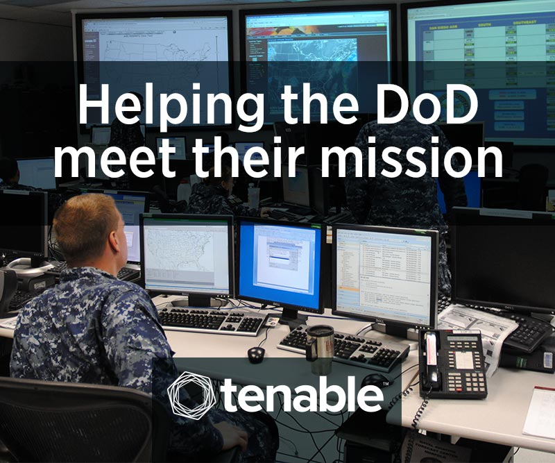 Tenable - Helping DoD meet their mission