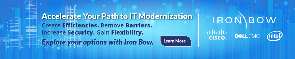 Iron Bow & Cisco, Dell EMC & Intel