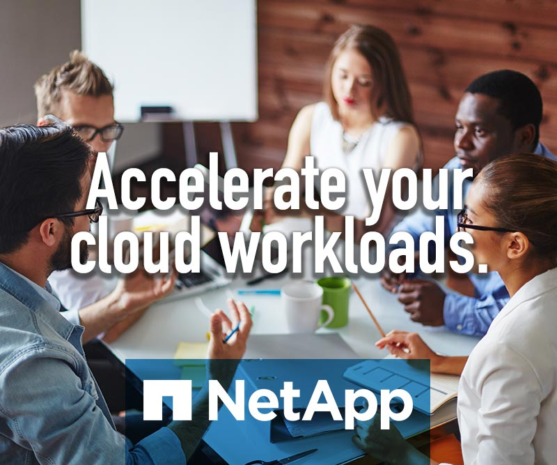 NetApp - Accelerate your cloud workload