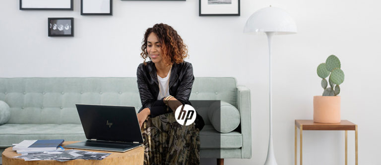 HP remote work image