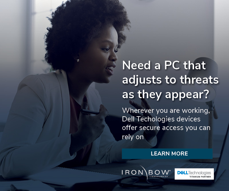 Dell Technologies offers devices with secure access you can rely on.
